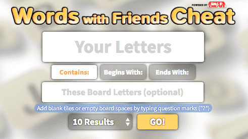 All 7 letter words: Cheats for Wordfeud